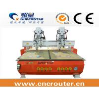 Buy cheap mulitple heads CNC Router machine for furniture product