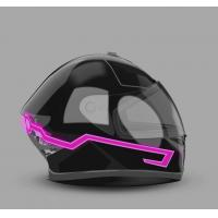 Buy cheap 2019 new design custom  hot sale popular glow in the dark LED light up motorcycle helmet tape super cool look for motor product