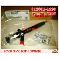 Genuine common rail injector 095000-8290, 095000-8220 for TOYOTA Hilux 23670-0L050