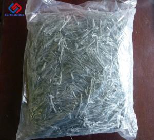 China Eco Friendly Macro Synthetic Fibers , Plastic Fibre Reinforced Concrete on sale