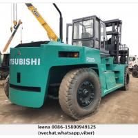 Mitsubishi 30ton Used Diesel Powered Forklift 1500mm Fork Length for sale