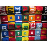 China Cheap Knitted Scarf Winter Warmer 100% Acrylic Football Club Fan Scarf on sale