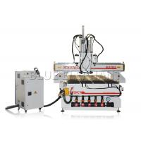 Buy cheap Woodworking vacuum bed cnc router machine , 1325 auto matic tool change cnc router with three spindles product