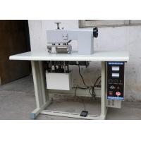 Buy cheap Output 2.2KW Ultrasonic Lace Machine / 0-30 M/Min Ultrasonic Sewing Machine from wholesalers