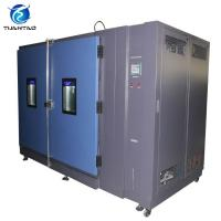 Buy cheap OEM Bus Walk - In Temperature Humidity Environmental Test Chamber AC 3 Phase 380V 50/60 Hz product
