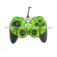 Buy cheap Fashionbal green wired PC USB game controller with vibration product