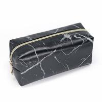 China Marble Black Makeup Accessories Bag , Makeup Brush Pouch Case Eco Friendly on sale