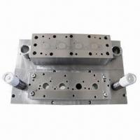 Buy cheap Stamping Blank Dies, Suitable for Manifold Gasket product