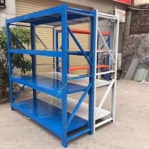 Buy cheap Banner Boltless Warehouse Storage Racks / Movable Tier Steel Metal Shelving Racks from Wholesalers
