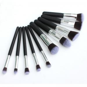 2016 Beauty Need Make Up Brush Kit 10 piece/set black silver color