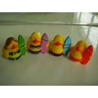 Buy cheap OEM Mini Yellow Personalised Rubber Bath Ducks For Baby Shower Favors product