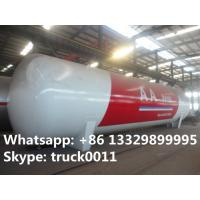 Chinese famous brand  high quality 120cbm LPG storage tanker for sale, best price CLW brand surface lpg gas storage tank