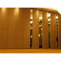 Buy cheap Office Acoustic Room Dividers , Melamine Surface Sliding Movable Partition Wall from wholesalers