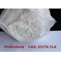Buy cheap Pirfenidone Pharmaceutical Raw Materials , Anti Inflammatory Powder Supplements  product