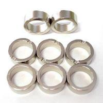 Buy cheap sintered big ring Zn coating ndfeb magnetic magnet for loudspeaker product