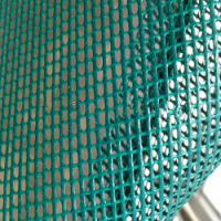 Buy cheap Reinforce PVC Coated Polyester Mesh , 50N/5cm Peeling Strength Building Safety Net product