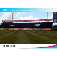 Buy cheap Large Outdoor Stadium Perimeter Advertising Boards With 140 Degree Viewing Angle product