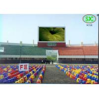 Buy cheap Full Color Led Sport Court RGB LED Billboard With Slim Cabinet Customized product