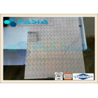 Buy cheap Anti skidding Lifter usage honeycomb stainless steel sheet  Diamond Tread Plate Pattern product