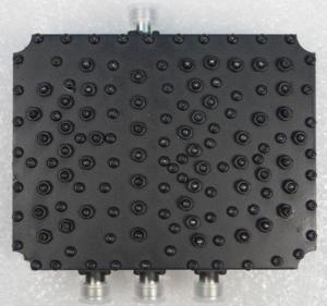 Buy cheap Low Insertion Loss 0.5DB 3 Way Power Splitter PIM 150DBC 300W Input product