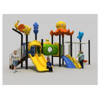 Buy cheap Commercial Kindergarten Childrens Plastic Playground Out Door Playsets product