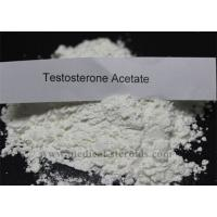 Buy cheap Hormone Testosterone Anabolic Steroid Test Acetate For Muscle Building , Cas 1045-69-8 product