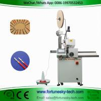 Buy cheap Fully Automatic Wire Cutting Single End  Stripping Single End Crimping Machine Custom For AWG10 Wire product