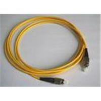 China Plastic high dense connection optical fiber patch cable cord type DX / SX on sale