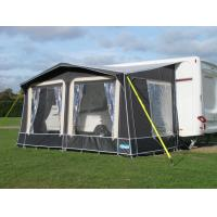 China Seasonal tent trailer awning / pyramid caravan awnings with Clear PVC Window on sale