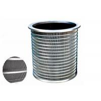 Buy cheap Precision Screening Purification Equipment Pressure screen Basket For Paper Mill product