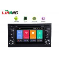 Buy cheap 7 Inch Touch Screen Audi Car DVD Player Android 8.1 With TV GPS USB Port product