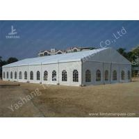 Buy cheap 100% Usage White Roof and Wall Fabric Outdoor Tent, High Pressed Aluminum Profile from Wholesalers