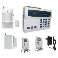 Buy cheap 900mhz /1800mhz Home Burglar Alarms with LED, remote control from Wholesalers