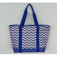 Buy cheap Outdoor Insulated Cooler Bags Full Printed 600D Polyester Tote Beach product