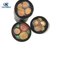 Buy cheap CU/EPR/CPE 3 Conductor Type GGC Cable Round Portable Mining Power Cable 2000V from wholesalers