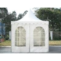 Buy cheap White PVC Outdoor Exhibition Tent , Heat Resistant Marquee Party Tent UV Protection product