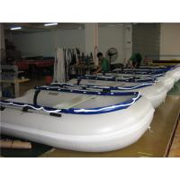 Buy cheap 14.1 Ft Small Inflatable Boat With Motor , Dive Inflatable Power Boat Abrasion Proof product