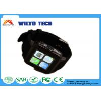 Buy cheap WB15 Manual Mens Digital Watches , Bluetooth Smartphone Watch Black 1.54 Inch Touch Screen Gsm product