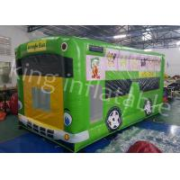 Buy cheap Jungle Bus Shape Inflatable Jumping Castle Indoor and  Outdoor Playground from Wholesalers