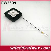 Buy cheap RUIWOR RW5609 Square Multi-purpose Cable Retractor Retracting forces MAX 2.5LB/ Cable length MAX 400CM product