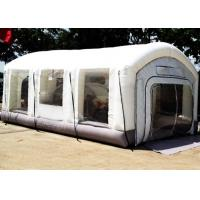 Buy cheap Automotive Mini Outdoor Mobile Portable Car Inflatable Spray Paint Booth White Color product