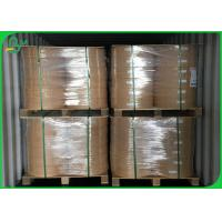 Buy cheap 60g 120g Food Grade Kraft Paper Straw Roll Paper For Beverages product