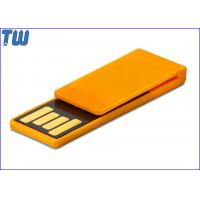 Buy cheap Plastic Paper Clip Pen Drive Price 4GB Storage to Fit for Your Daily Use product