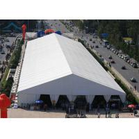 Buy cheap A-Frame Large Exhibition Event Tents With Aluminum And PVC Tent Fabric, 20m * 30m Big Canopy product