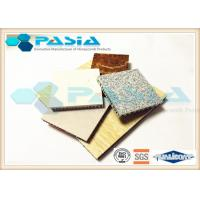 Eco - Friendly Composite Stone Cladding Marble Honeycomb Panels Thermal Insulation