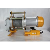 Buy cheap KCD Type Electric Lifting Winch / Electric Rope Winch 7-14 M/Min Lifting Speed product