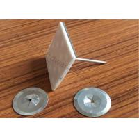 Buy cheap Steel Self Adhesive Insulation anchor Pins 6-1/2   For Flexible Duct Connector product