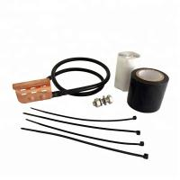 Quality Standard Universal Grounding Kit For 1/4 3/8 Inch Corrugated Braided Coaxial Cable for sale