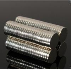 China Small Thin Neodymium Disc Magnets Craft Reborn Fridge Diy NdFeB Magnetic Materials 8mm Dia x 1mm N52 on sale