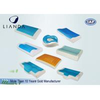 China Slow Rebound Cooling Gel Pillow Lovely Decorated Mesh And Velboa Cover on sale